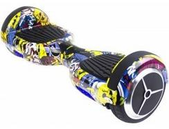 "Hoverboard SKATEFLASH 6,5"" Graffity + Bolsa"