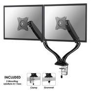 Newstar NeoMounts NM-D500DBLACK suporte de mesa de ecrãs planos