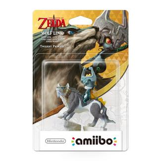 Amiibo The Legend of Zelda – Figura Wolf-Link (The Legend of Zelda)
