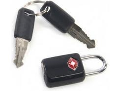 Cadeado com chave TUCANO Luggage Lock em Preto