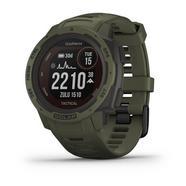 Relógio GPS Garmin Instinct Solar Tactical Edition Verde-militar