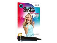 Jogo Nintendo Wii Let's Sing 2016 + 1 Micro
