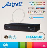 Recetor de Satelite ASTRELL 013143 FRANSAT HD