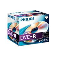 Jewel case DVD-R 4,7GB 16X (1 unidade)