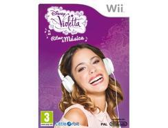 Jogo Nintendo Wii Disney Violetta – Ritmo & Música