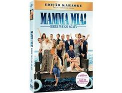 DVD2 Mamma Mia! Here We Go Again