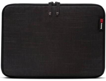"""Booq Sleeve Mamba para MacBook 12"""" Preto"""