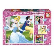 Princesas Disney: Puzzle Progressivo Princesas
