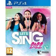 Let's Sing 2022: PS4