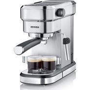 Máquina de Café SEVERIN KA5994 (15 bar – Café moído e pastilhas)
