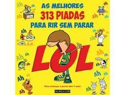 Livro As Melhores 313 Piadas Para Rir de Nuno Caravela