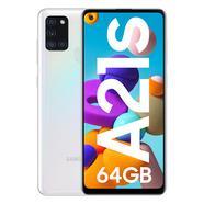 "Smartphone SAMSUNG Galaxy A21s (6.55"" – 4 GB – 64 GB – Branco)"