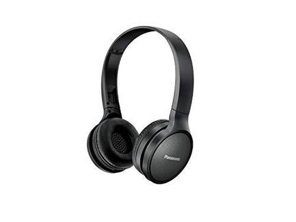 Auscultadores Bluetooth PANASONIC RP-HF410BE-A (On ear – Microfone – Preto)