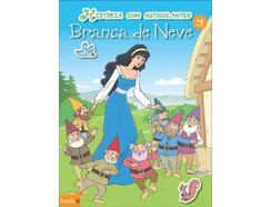Livro História com Autocolantes: Branca de Neve de Vários autores (Português – 2014)