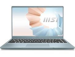 """Portátil MSI Modern 14 B11SB-082PT (14"""" – Intel Core i7-1165G7 – RAM: 16 GB – 1 TB SSD – NVIDIA GeForce MX450)"""