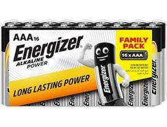 Pilhas ENERGIZER Alcalina Power LR03 AAA (pack 16 unidades)
