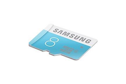 Cartão de Memória MicroSDHC SAMSUNG 8GB Class4 + Adaptador SD