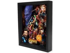 POSTER 3D Avengers Infinity Wae