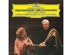 Vinil Anne-Sophie Mutter/Herbert von Karajan/Berliner Philharmoniker – Brahms: Violin Concerto In D, Op.77