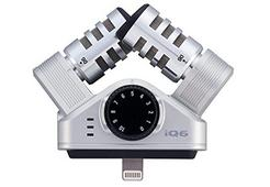 Microfone Condensador ZOOM iQ6 (Com Fio)