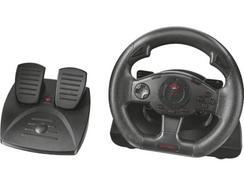 Volante + Pedais TRUST GXT 580 Sano Vibration (PC e PlayStation 3)