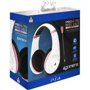 Auscultadores Gaming 4Gamers Stereo PRO4-70 Rose Gold Abstract White Edition