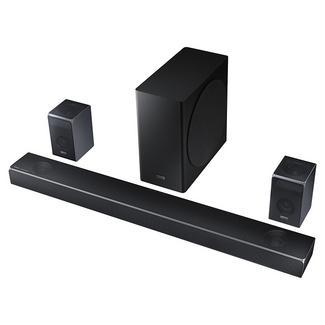 Soundbar SAMSUNG HW-Q90R/ZF (510W – Canais: 7.1.4 – Subwoofer: Sem Fios – Bluetooth)