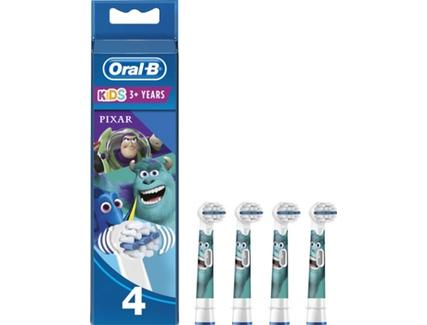 Recarga ORAL B Pixar 4 un
