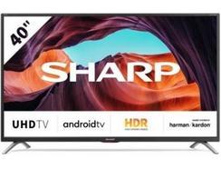 """TV SHARP 40BL2EA (LED – 40"""" – 102 cm – 4K Ultra HD – Smart TV)"""