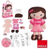 Goula: Boneca para Coser Camille