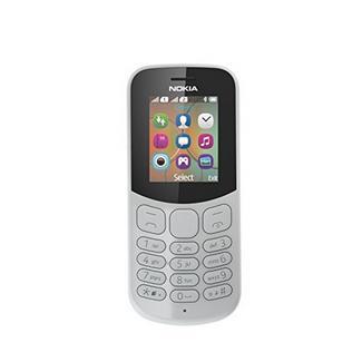 Telemóvel Nokia 130 Dual Sim, 1.8″, 8MB – Cinzento