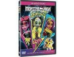 DVD Monster High: Eletrizante (Dobrado: Sim)