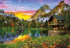 Puzzle 2D EDUCA Lago Alpino