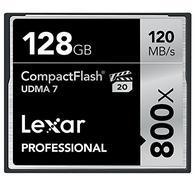 Lexar CF Card 128GB 800x Professional UDMA