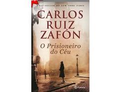 Livro O Prisioneiro do Céu de Carlos Ruiz Zafón