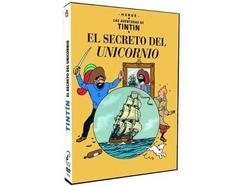 DVD Tintin: El Secreto del Unicornio (Edição em Espanhol)