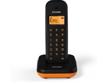Telefone fixo ALCATEL E155 Laranja