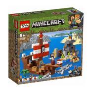 LEGO Minecraft: A Aventura do Barco Pirata