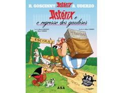 Livro Astérix o Gaulês Vol. 1 de René Goscinny e Albert Uderzo