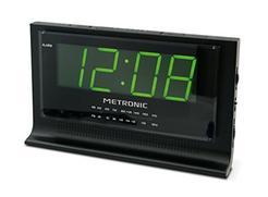 Rádio Despertador METRONIC 477010 Verde