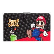 Bolsa Nintendo Switch Slim INDECA Super Mario Skull Caveiras
