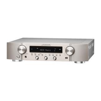 Receptor Estéreo Marantz NR1200 com Leitor Áudio e HEOS – Prateado/Dourado Ouro / Prata