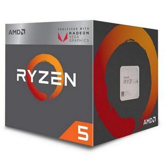 AMD Ryzen 5 3400G Quad-Core 3.8GHz c/ Turbo 4.2GHz 6MB SktAM4