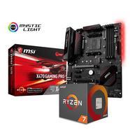 Bundle MB MSI X470 Gaming Pro + CPU AMD Ryzen 7 2700X