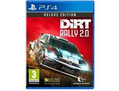 Jogo PS4 Dirt Rally 2.0 (Deluxe Edition – M3)