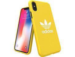 Capa ADIDAS Adicolor Moulded iPhone X Amarelo