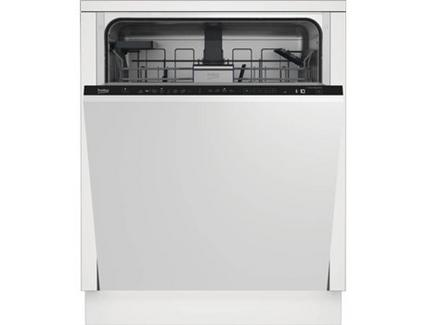 Máquina de Lavar Loiça Encastre BEKO AUTODOSE DIN48430AD (14 Conjuntos – 59.8 cm – Painel Preto)