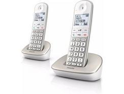 Telefone Fixo Philips XL4902S/22 Bege