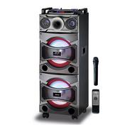 """Coluna DJ SOGO ALT-SS-8735 Preto (4000 W – 2 x 12"""")"""