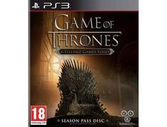 Jogo PS3 Game of Thrones: Season 1 Pass Disc
